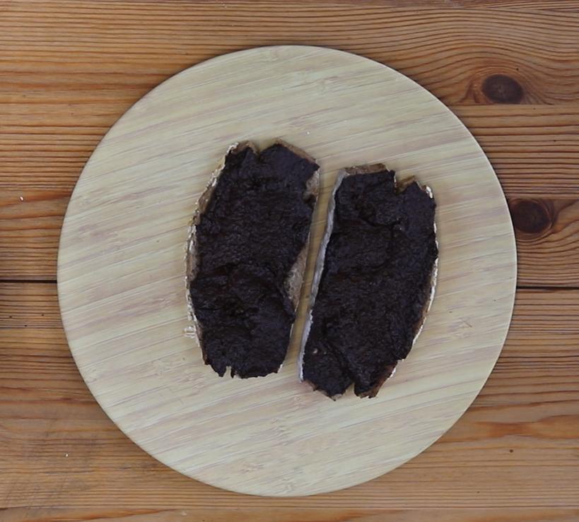 Pa amb crema de xocolata